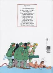 Verso de Les femmes en Blanc -4b1993- Les jeunes filles opèrent
