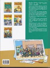 Verso de Les profs -2a2004- Loto et colles