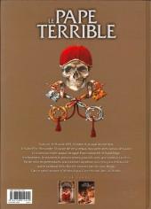Verso de Le pape terrible -1a- Della Rovere