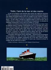 Verso de Tintin - Divers -63'''- Tintin et la Mer - Ouest France