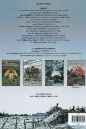 Verso de Lefranc (Les voyages de/Les reportages de) -6- La Bataille des Ardennes