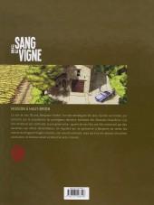 Verso de Le sang de la vigne -1- Mission à Haut-Brion