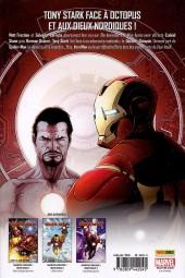 Verso de Invincible Iron Man (The) (Marvel Deluxe) -4- Fear Itself
