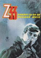 Verso de Z33 agent secret -95- Les diables invisibles