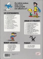 Verso de Les schtroumpfs -6b90- Le cosmoschtroumpf