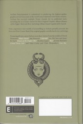 Verso de Free Comic Book Day 2012 - Mouse Guard / Labyrinth and Other Stories: A Free Comic Book Day Hardcover Anthology