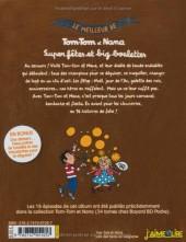 Verso de Tom-Tom et Nana (Le meilleur de) -4- Super fêtes et big boulettes