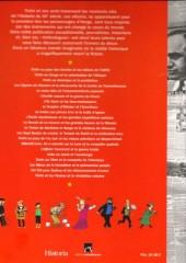Verso de Tintin - Divers -64- Tintin dans l'histoire de 1930 à 1986