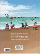 Verso de Alban Dmerlu -1- Du sable entre les orteils