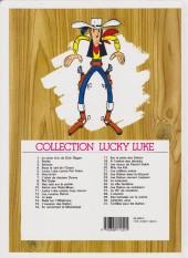 Verso de Lucky Luke -9d99- Des rails sur la prairie