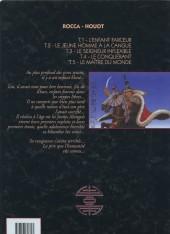 Verso de Le khan -5- Le maître du monde