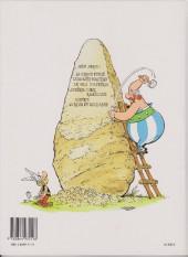 Verso de Astérix -27a1995- Le fils d'Astérix