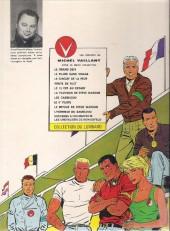 Verso de Michel Vaillant -6a1967- La Trahison de Steve Warson