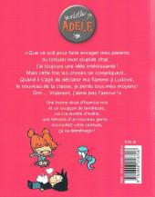 Verso de Mortelle Adèle -4- J'aime pas l'amour