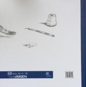 Verso de (AUT) Derib - L'aventure d'un crayon