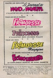 Verso de Frimousse et Frimousse-Capucine -176- Premier bal