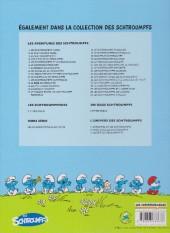 Verso de Les schtroumpfs -22Ind- Le Schtroumpf reporter