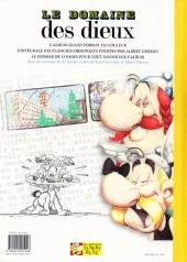 Verso de Astérix (albums Luxe en très grand format) -17- Le Domaine des dieux