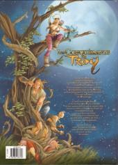 Verso de Les conquérants de Troy -4- Le Mont Rapace