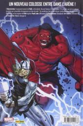 Verso de Hulk (Marvel Deluxe) -1- Qui est le Hulk Rouge?