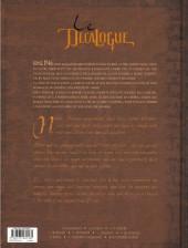 Verso de Le décalogue -4a- Le serment