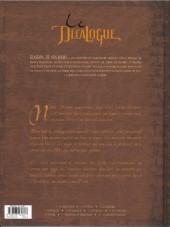 Verso de Le décalogue -1a2010- Le manuscrit