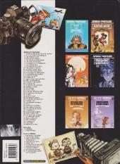 Verso de Spirou et Fantasio -1d2003/01- 4 aventures de Spirou ...et Fantasio