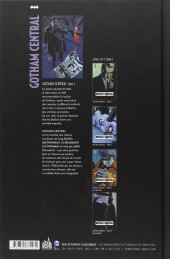 Verso de Gotham Central (Urban comics) -2- Tome 2