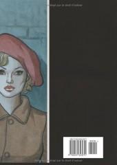 Verso de D'encre et de sang -HS1- Scénario et aquarelles