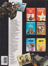 Verso de Spirou et Fantasio -20e1995- Le faiseur d'or