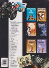 Verso de Spirou et Fantasio -25e99- Le gri-gri du Niokolo-Koba