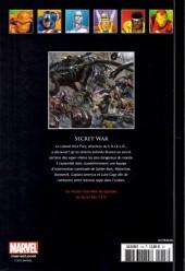 Verso de Marvel Comics - La collection (Hachette) -1837- Secret War