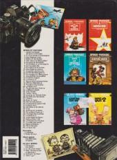Verso de Spirou et Fantasio -38b1994- La jeunesse de Spirou