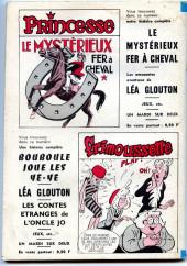 Verso de Frimousse et Frimousse-Capucine -223- Miss casse-cou