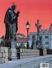 Verso de Victor Sackville -7- Pavel Strana Tome 1 - La nuit de Prague