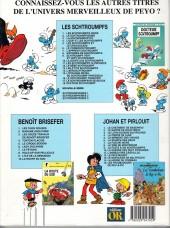 Verso de Les schtroumpfs -17Or- Le schtroumpfeur de bijoux