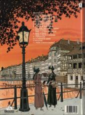 Verso de Victor Sackville -10- La cigogne noire