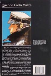 Verso de (AUT) Pratt, Hugo (en espagnol) - Querido Corto Maltés