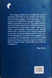 Verso de (AUT) Pratt, Hugo (en espagnol) - Carta al Sargento Kirk