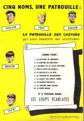Verso de La patrouille des Castors -1a64- Le mystère de gros-bois