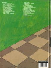 Verso de Victor Sackville -17- L'échiquier Anderson