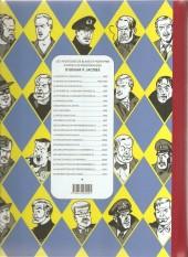 Verso de Blake et Mortimer -19Toilé- La Malédiction des trente deniers - Tome I