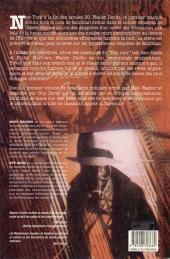 Verso de Sandman (Les Mystérieuses Enquêtes de) -1- La Tarentule