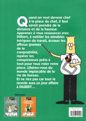 Verso de Dilbert (Albin Michel) -3- Comment devenir chef à la place du chef