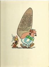 Verso de Astérix -13b1973- Astérix et le chaudron