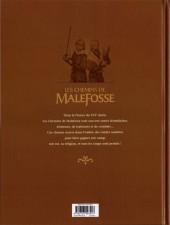 Verso de Les chemins de Malefosse -22- Fortune vagabonde