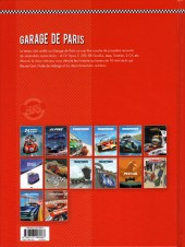 Verso de Garage de Paris -1- Dix histoires de voitures populaires