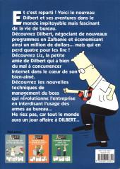Verso de Dilbert (Albin Michel) -4- Les Nouvelles Misères de la Vie de Bureau