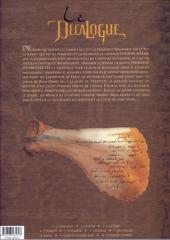 Verso de Le décalogue -9- Le papyrus de Kôm-Ombo