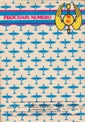 Verso de Battler Britton -331- Escadrille disciplinaire
